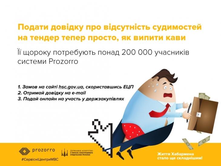 Українці можуть замовляти довідки про відсутність судимості онлайн 2
