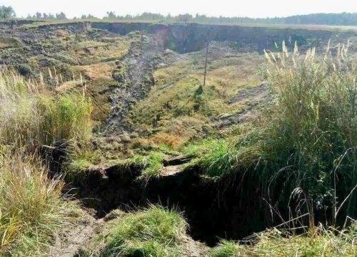 Через землетрус стався обвал карстової породи в селі Модричі