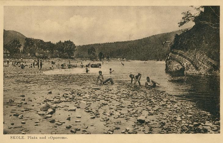 Карпатські пляжі: як відпочивали на гірських ріках 90 років тому. ФОТО 1