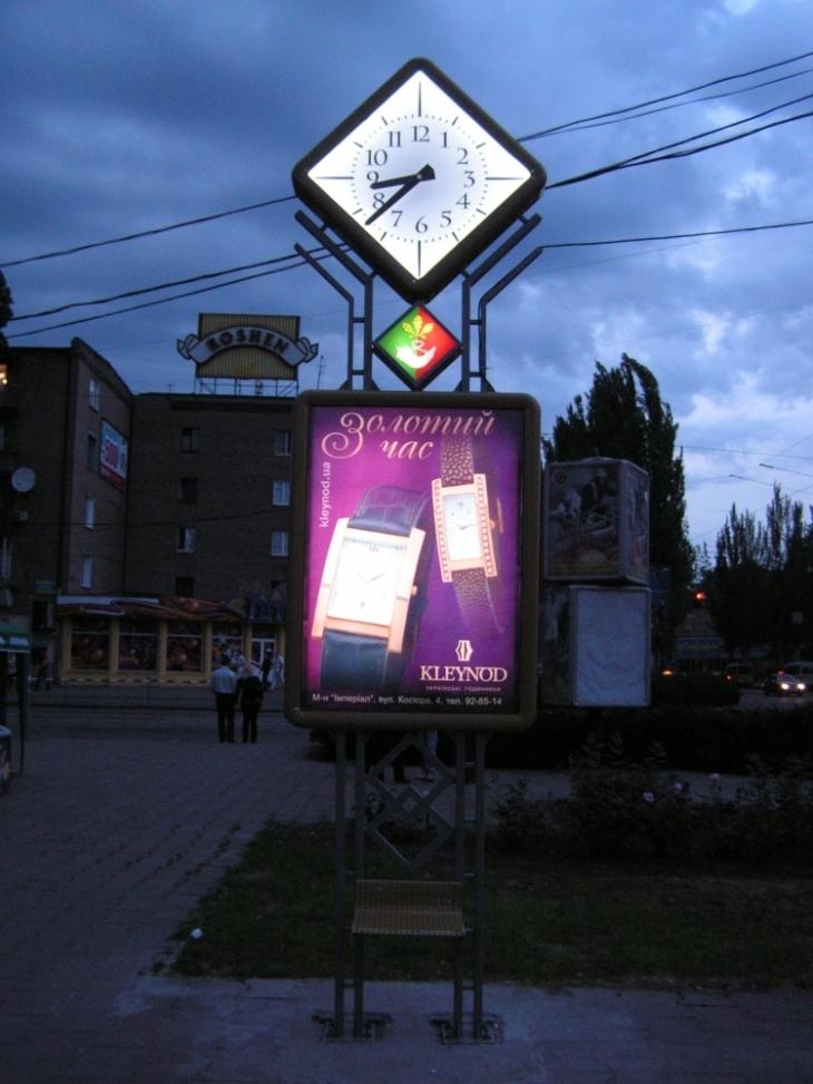 Два вуличні годинники встановлять у Франківську 4