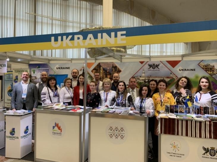 Туристичний потенціал Івано-Франківська та області презентували у Булорусі (фотофакт)