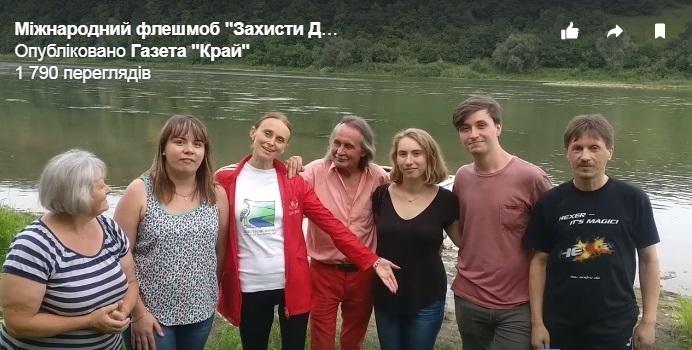 Представники National Geographic, що пишуть про Дністровський каньйон, зустрілися з мешканцями Городниці (відео)
