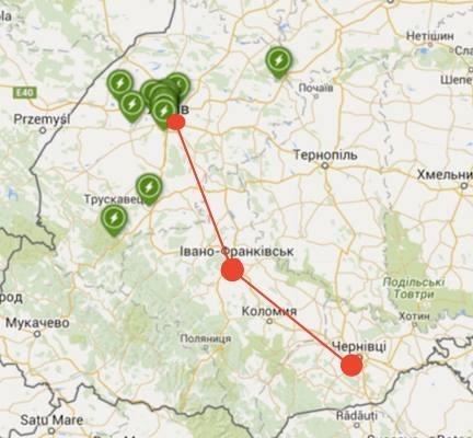 """""""Тепле місто"""" разом із Tesla Club Ukraine розбудовує мережу зарядних пристроїв для електромобілів у Івано-Франківську 2"""