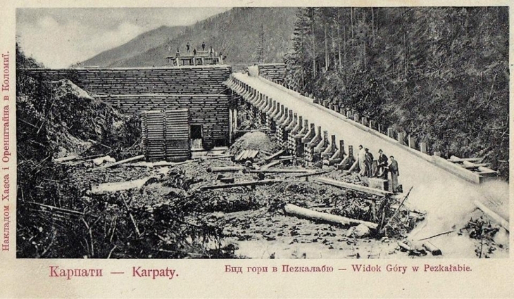 Бокори, дараби, кляузи: фото унікальних гідротехнічних споруд у Карпатах 12