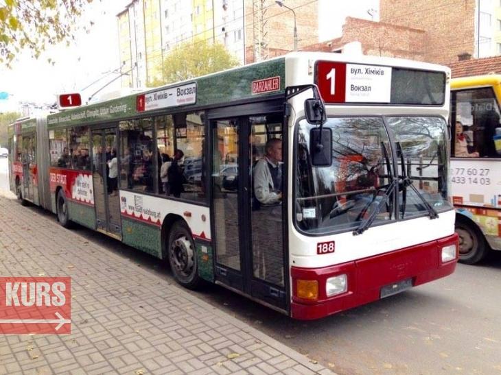 """Результат пошуку зображень за запитом """"тролейбус №1 івано-франківськ"""""""