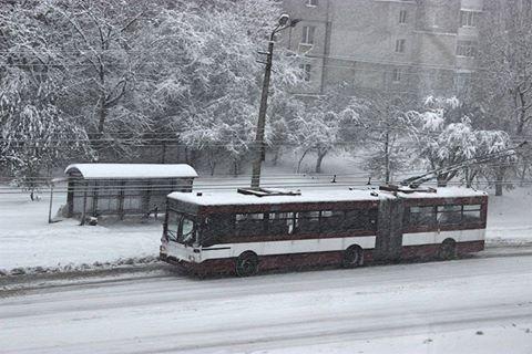 """Результат пошуку зображень за запитом """"тролейбуси зимою"""""""
