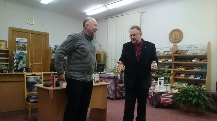 Топ-письменник України і Європи Андрій Курков презентував франківцям два нові  романи c8bf9ae100839