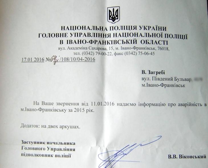 ДТП Івано-Франківськ