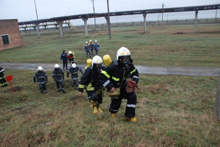 Пінна атака: пожежники гасили Бурштинську ТЕС. ФОТО 2