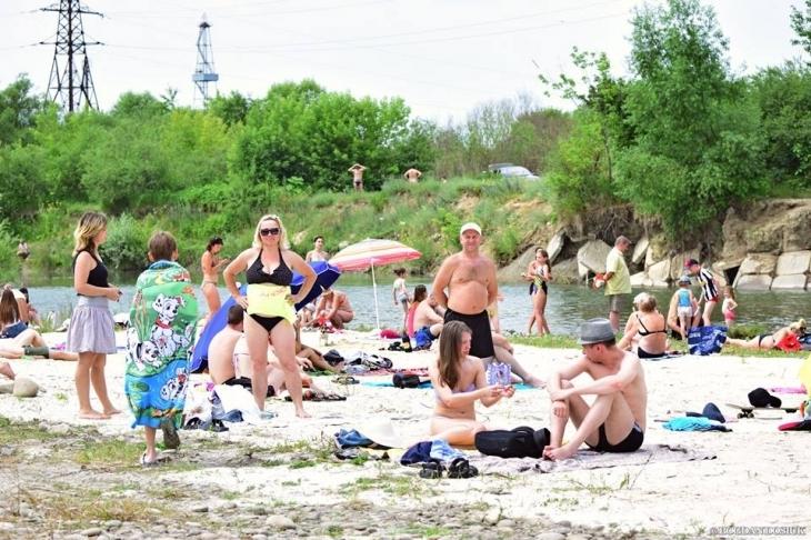 """Результат пошуку зображень за запитом """"На берегах Бистриць облаштують 4 нові пляжні зони"""""""