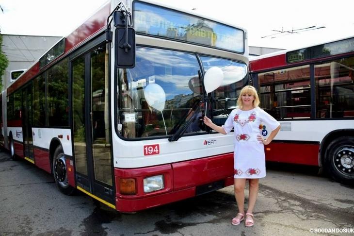 УФранківську намаршрути виходять австрійські тролейбуси