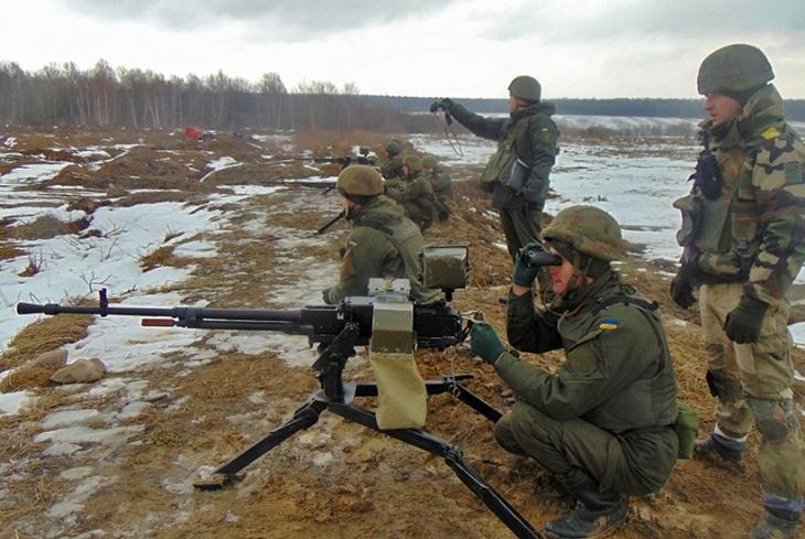 Прикарпатці стали найкращими на навчальних зборах кулеметників (фоторепортаж)
