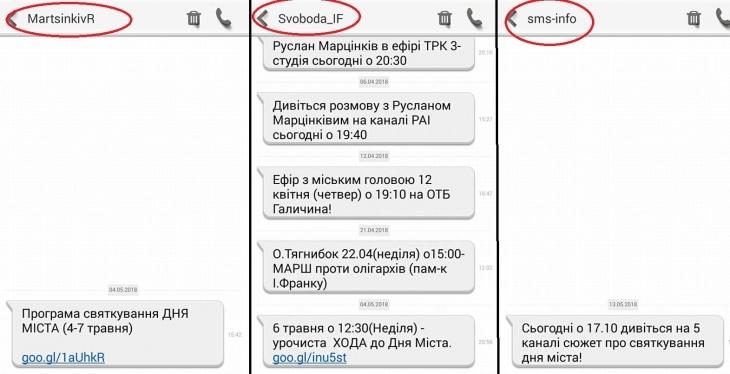 Марцінків відмовився відкрити, хто фінансує його СМС-розсилки: боїться, щоб ним не зацікавилися правоохоронці 2