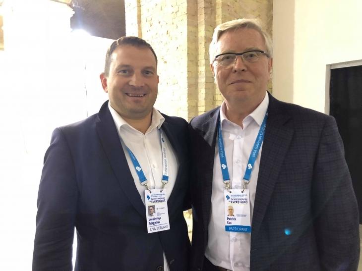Новий лідер Володимир Гергелюк став учасником зустрічі YES. ФОТО, ВІДЕО 3