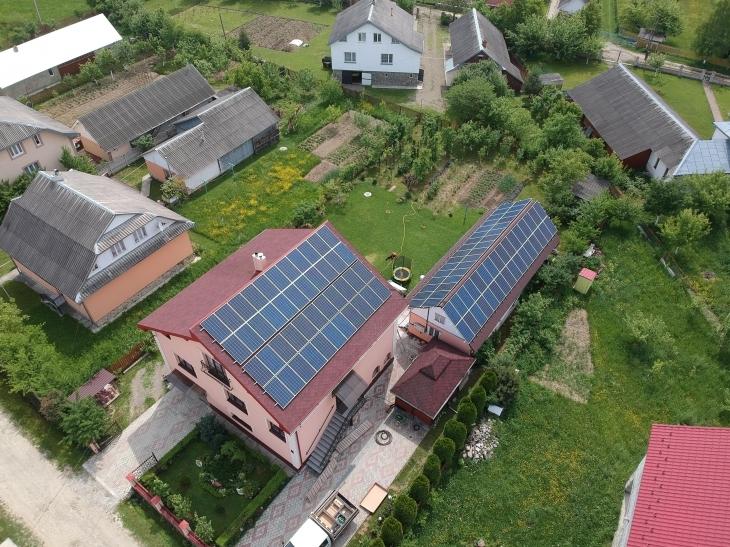 Сонячну електростанцію потужністю 30 кВт змонтовано в Молодькові. ФОТО 1