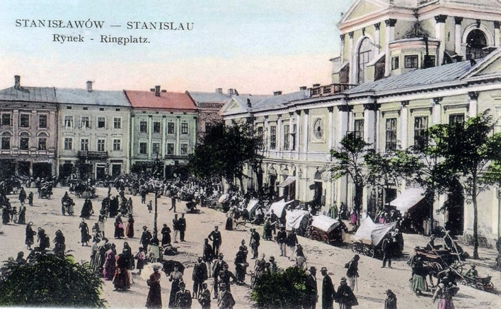 Крамниці в міській ратуші.