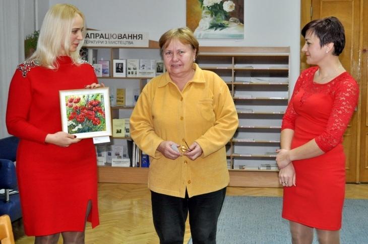 У Франківську відкрилась персональна виставка картин Галини Григорук. ФОТО 4