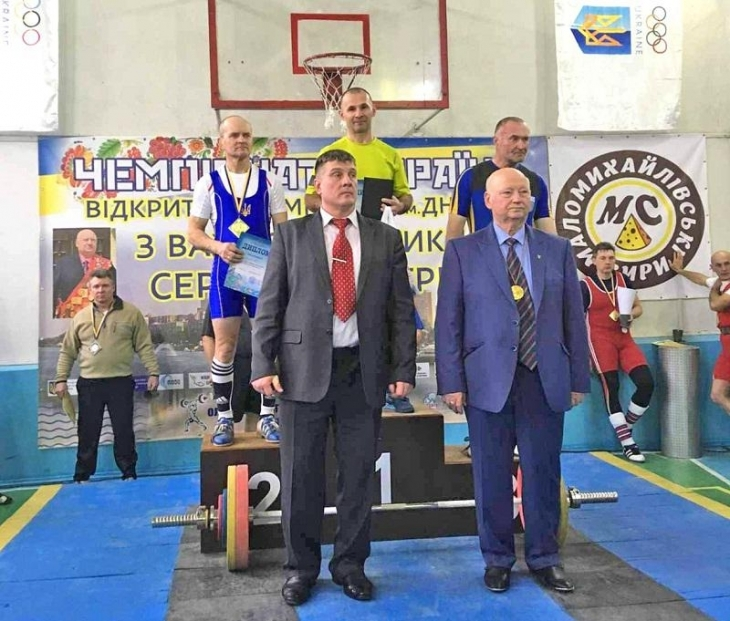 Прикарпатець став чемпіоном України з важкої атлетики