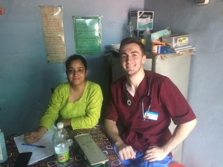 Студент ІФНМУ побував на медичному волонтерстві в Індії (фоторепортаж)