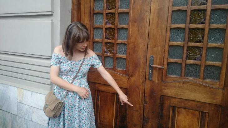 Сліди історії: у Франківську презентували двоє відреставрованих дверей початку минулого століття. ФОТО 10