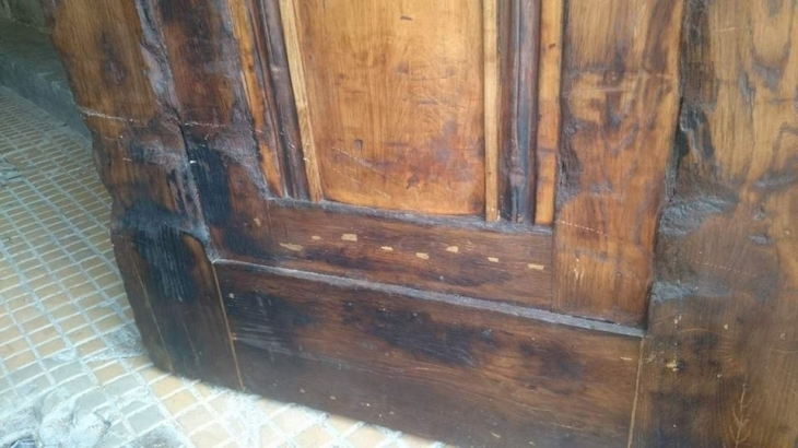 Сліди історії: у Франківську презентували двоє відреставрованих дверей початку минулого століття. ФОТО 12