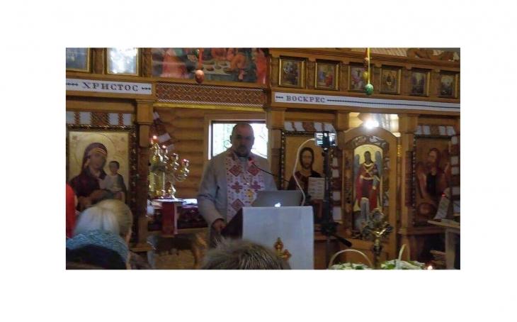 Проповіді отця Володимира можна дивитися в прямих трансляціях на Facebook.
