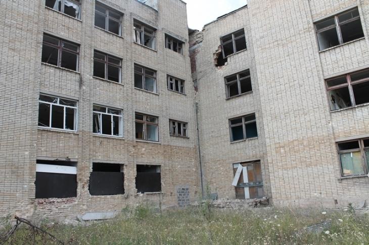 Frontline schools of Krasnogorivka: five in one 2