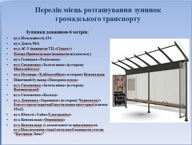 У Франківську встановлять 26 нових зупинок. АДРЕСИ 1