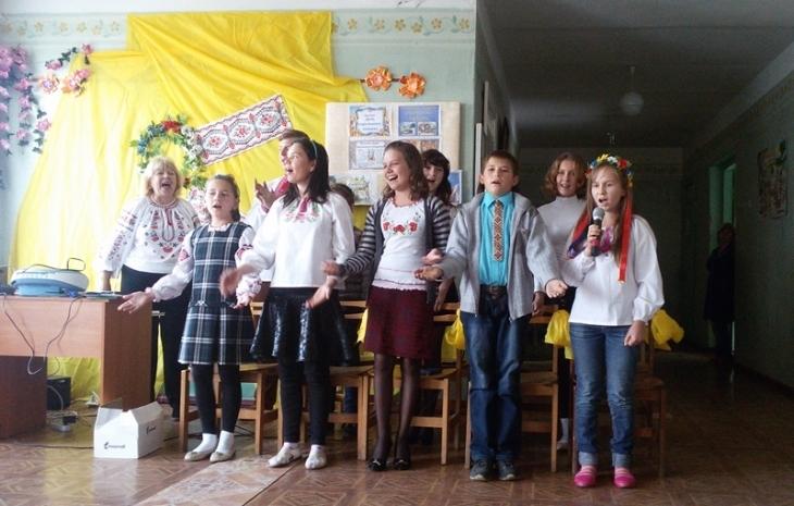 Красногрівка шкільне свято