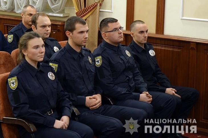 Чотири прикарпатських ОТГ отримають дільничних офіцерів поліції (фоторепортаж)