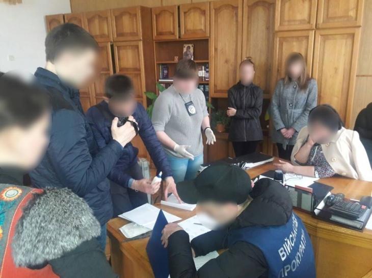 УЛьвові СБУ затримала нахабарі очільників одного зкомунальних підприємств міськради