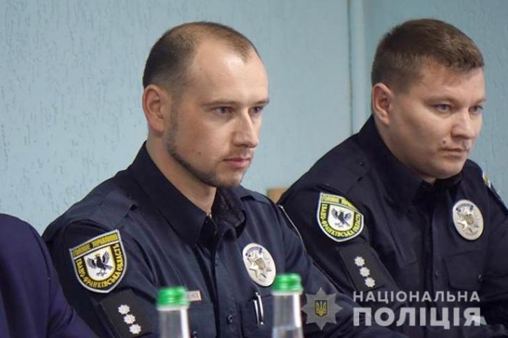 В поліції Тлумаччини новий керівник (фотофакт)