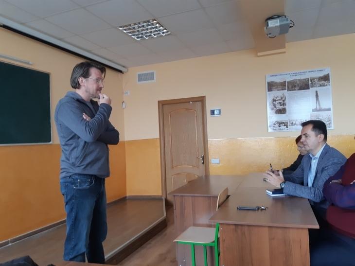 У Франківську провідний нафтовик і студенти ІФНТУНГу говорили про перспективи роботи в Україні 1