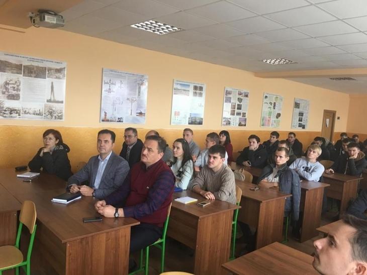 У Франківську провідний нафтовик і студенти ІФНТУНГу говорили про перспективи роботи в Україні 3