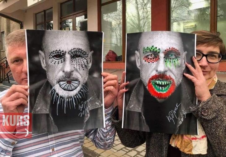 Іздрик у Франківську перетворив учасників перформансу на зомбі. ФОТО, ВІДЕО 1