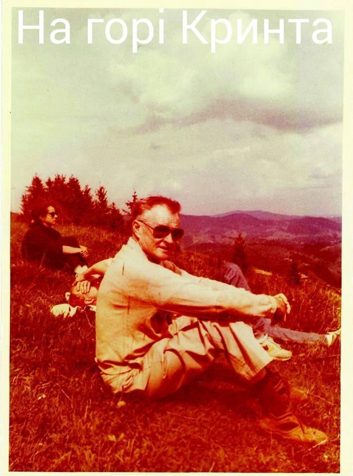 Збігнєв Бжезінський на горі Кринта. Фото з архіву Дмитра Дзвінчука.