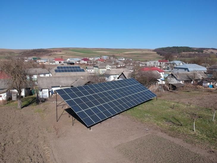 Сонячну електростанцію потужністю 25 кВт встановлено в Лучинцях 1