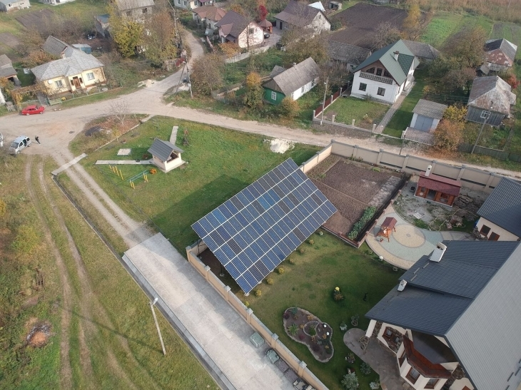 Сонячну електростанцію 30 кВт змонтовано в Бурштині. ФОТО 2