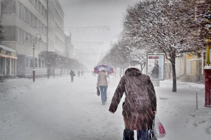 """Результат пошуку зображень за запитом """"снігопад в Івано-Франківську"""""""