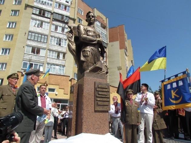 """Марцінків обіцяє """"перший і поки єдиний в Україні"""" пам'ятник Роману Шухевичу. Хоч в області вже є кілька 4"""