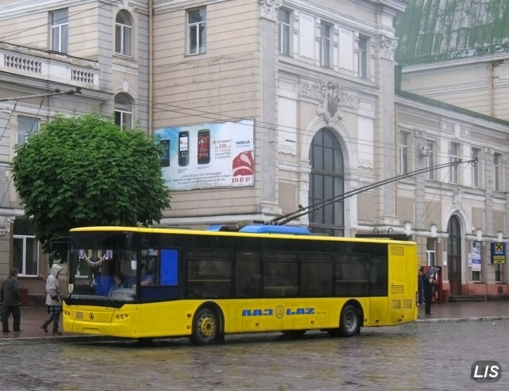 З квітня у Франківську відбудуться зміни на чотирьох тролейбусних маршрутах (інфографіка)