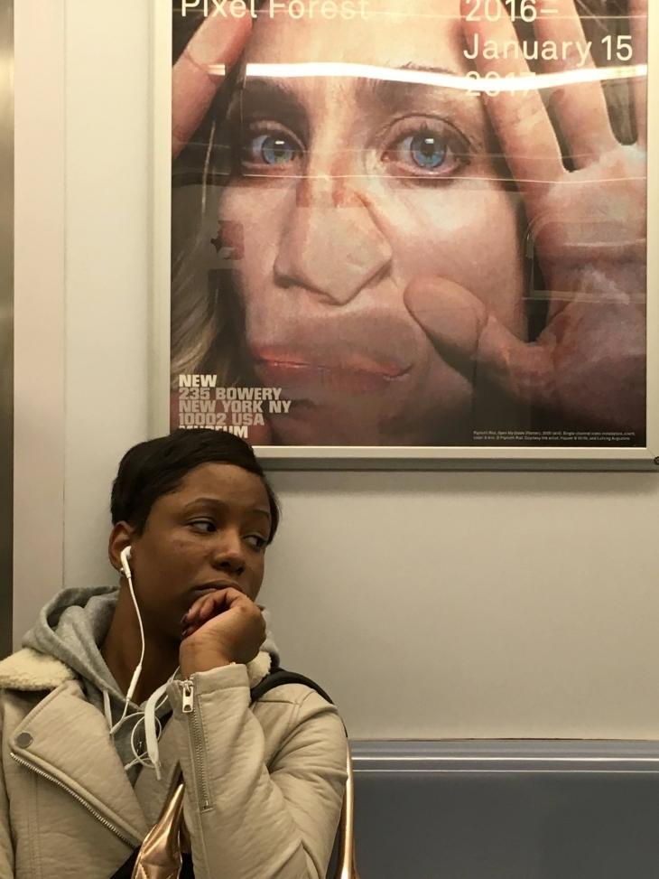 Нью-Йорк – погляд з метро 5