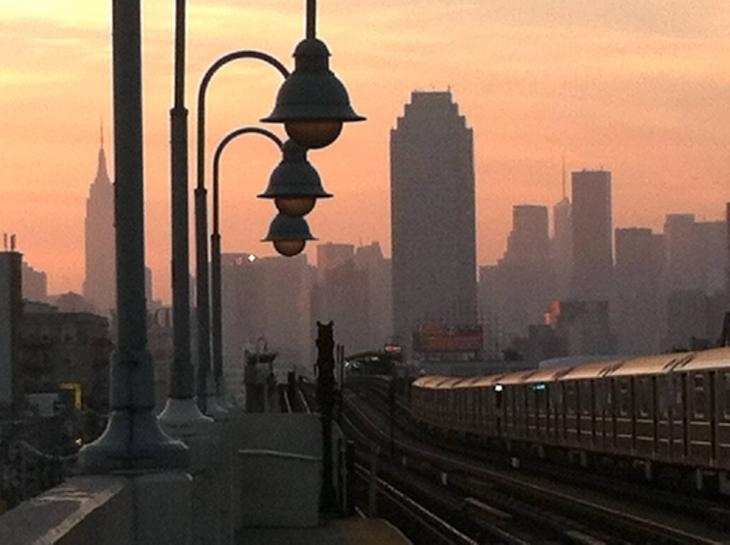 Нью-Йорк – погляд з метро 1