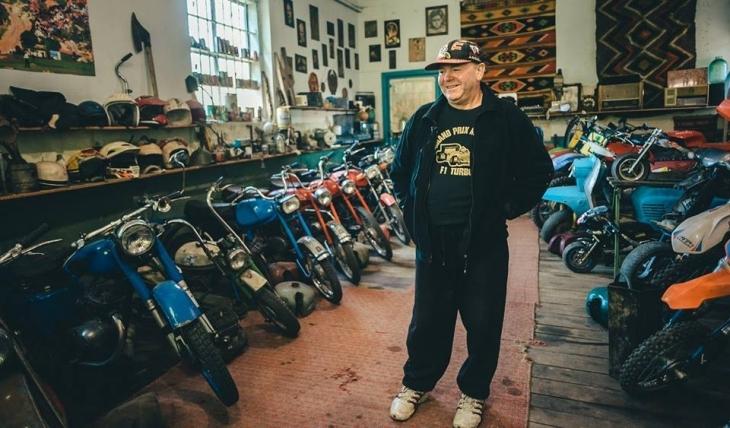 Косівчанин зібрав колекцію рідкісних мотоциклів – усі на ходу (фото+відео)