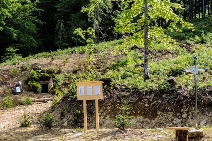 На Рожнятівщині відновили криївку УПА, де загинула пара закоханих. ФОТО 6