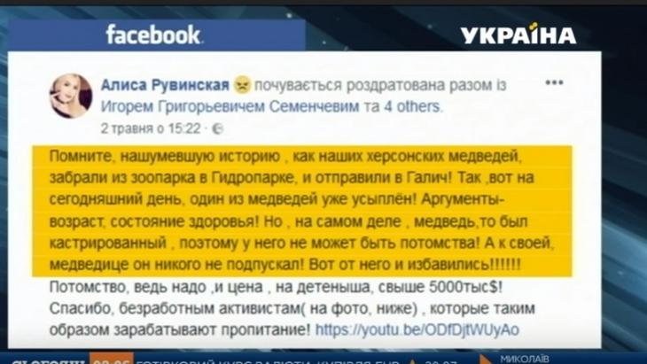 У мережі поширили неправдиву інформацію про смерть ведмедя у Галицькому НПП. ВІДЕО 1