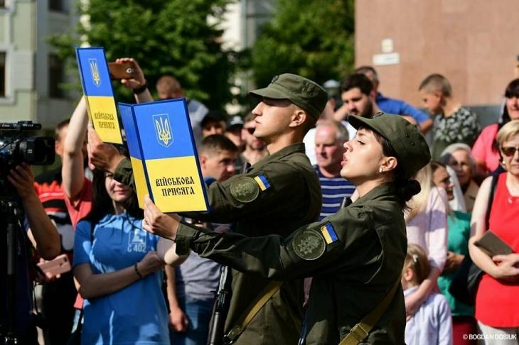 127 новобранців поповнили лави Національної гвардії України (відеорепортаж)