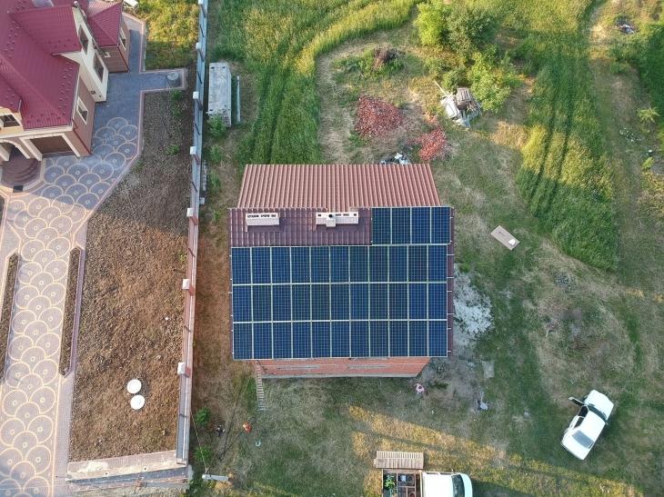 Сонячну електростанцію потужністю 13 кВт змонтовано в Підмихайлі 4