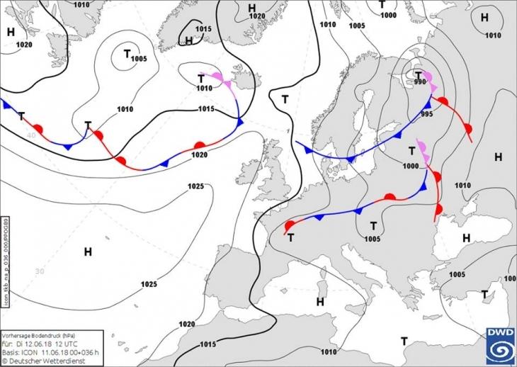 Північний циклон несе зливи і шквали на Прикарпаття 1