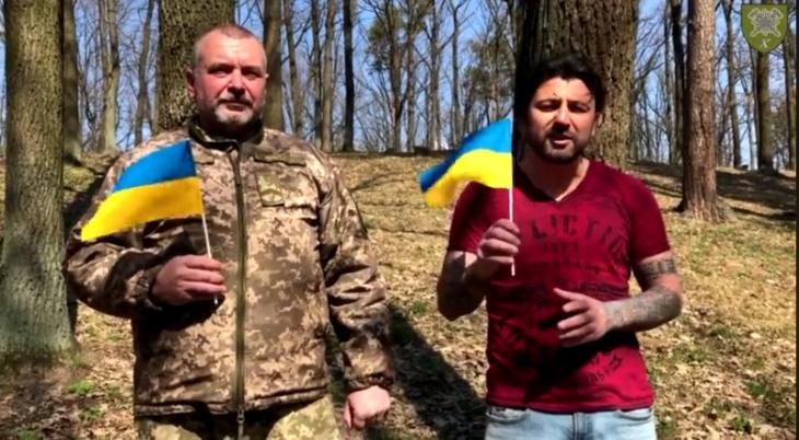 10-та бригада і гурт KOZAK SYSTEM запустили флешмоб (відеофакт)